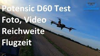 Potensic D60 Drohne Test: Foto, Video, Reichweite, Flugzeit