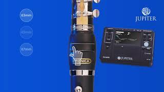 Jupiter Clarinette Sib étudiant ABS + baril intonica - Video