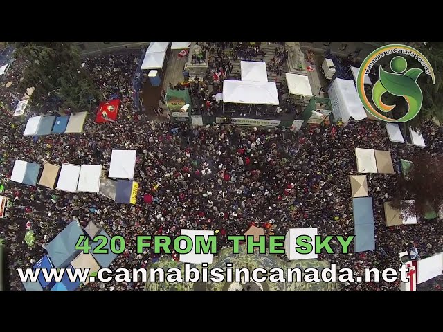 420 Vancouver 2014 from the sky