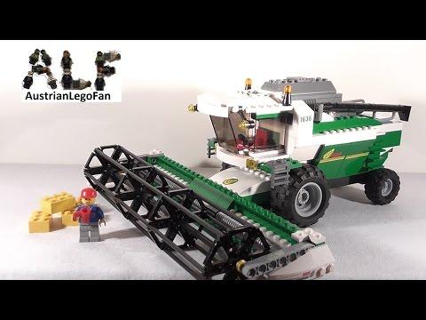 Vidéo LEGO City 7636 : La moissonneuse-batteuse