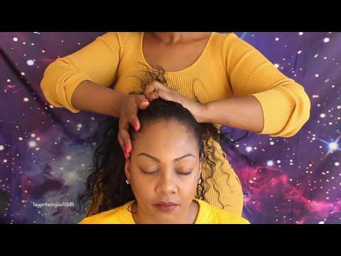 ASMR Hair Play & Scalp Scratch 💆🏽