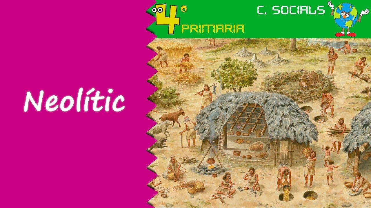 Ciències Socials. 4t Primària. Tema 7. La prehistòria: el neolític