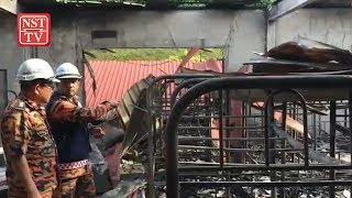 Male dorm razed by fire, no casualties reported | Kholo.pk