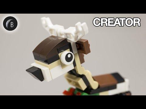 Vidéo LEGO Creator 40434 : Le renne (Polybag)