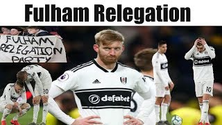 Watford 4 Fulham 1 | Fulham Relegation From The Premier League | Fulham FC