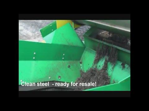 ¡Observe el Sistema CM CM4R Liberator Cero Desperdicio en acción!