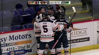 HIGHLIGHTS: West Kelowna Warriors @ Vernon Vipers – April 9th, 2021