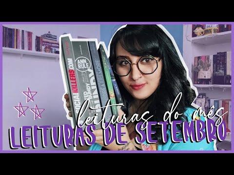 AS 8 LEITURAS DE SETEMBRO (2020) | por Carol Sant