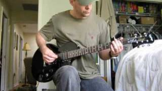 guitar instruction for Def Leppard Wasted (cover)