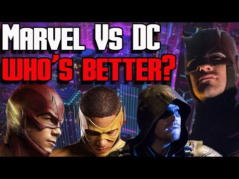 Marvel TV (MCU) vs DC Comics TV (Arrowverse)! Which One is Better!? | Spectacular Showdown