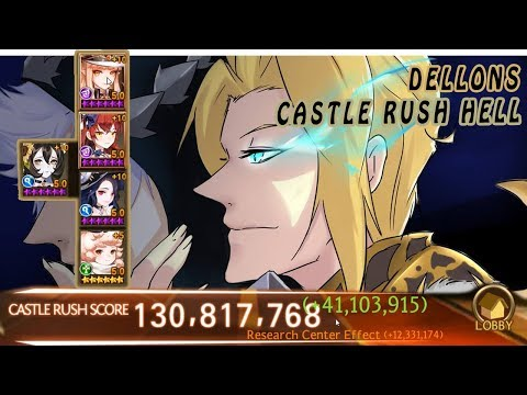 Seven Knights - Castle Rush Hell Dellons (Upgrade Score Again