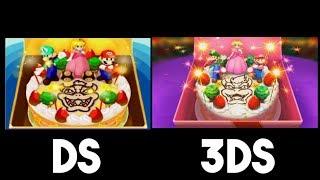 Mario & Luigi: Bowser's Inside Story 3DS vs. DS - Ending Comparison