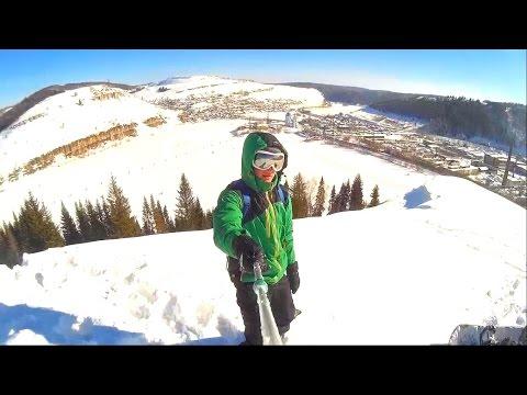 Видео: Видео горнолыжного курорта Миньяр в Челябинская область