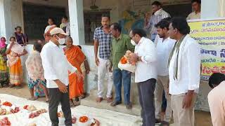 COVID 19-Distributed Dry ration to Poor Tribals at Venkatapuram in Mulugu District