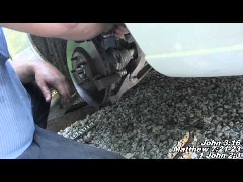"Wheel Bearing, Wheel Hub Assembly Remove Replace ""How to"" Chrysler Sebring"