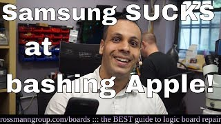 Samsung: please leave Apple bashing to CERTIFIED professionals.