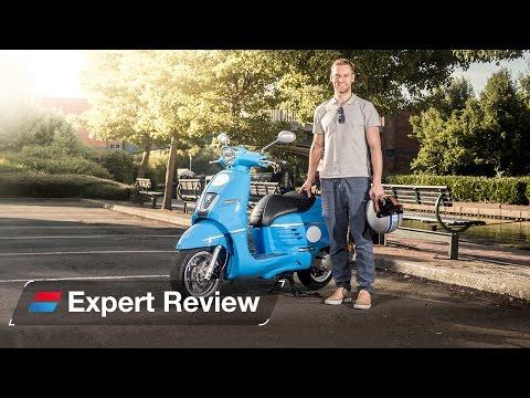 2016 Peugeot Django 50cc bike review