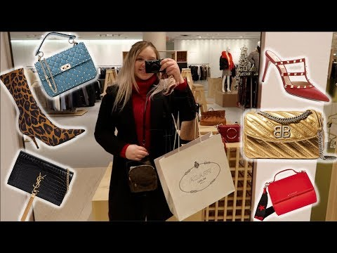 Luxury Shopping Vlogmas DAY 1 Black Friday Pre Sale ☆ Givenchy Valentino Balenciaga + LOTS More!
