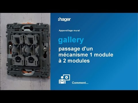 Prise TV gallery direct 2 modules