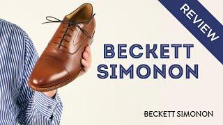 Beckett Simonon Mens Dress Shoe Review: Dean & Durant Oxfords