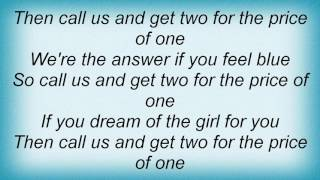 Abba - Two For The Price Of One Lyrics