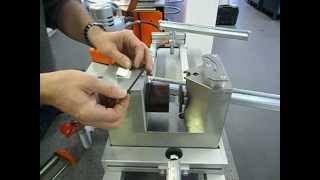 Видео: Машина за огъване и пробиване на шини LPV на Alfra