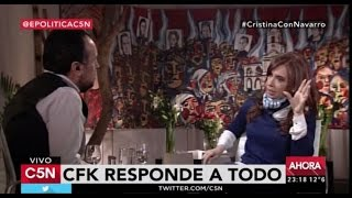 C5N  Economía Política Entrevista A Cristina Fernández De Kirchner 31/07/2016