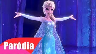 Frozen - Let it Go (Paródia/Redublagem) Macumba Saravá