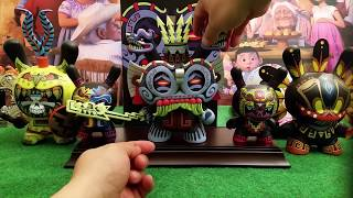 Jesse Hernandez Tlaloc Urban Aztec Vinyl Dunny Art Toy Review!