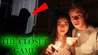 PLAYING THE CLOSET GAME // 3 AM OVERNIGHT CHALLENGE