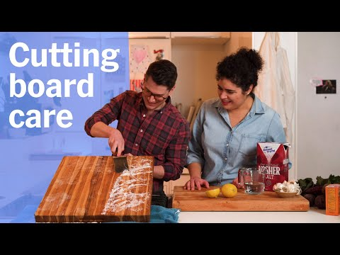 How to Make an Old Wood Cutting Board Look As Good As New!