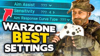 Warzone Season 4: All BEST SETTINGS for CONSOLE + PC (Modern Warfare Tips)