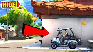 CRAZIEST HIDING SPOT IN FORTNITE BATTLE ROYALE?!?