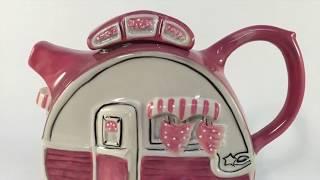 Unique Ceramic Teapots - 6 Cute & Unusual Teapots Collection