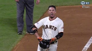 2014 NLCS Gm5: Ishikawa Sends Giants To World Series With Homer