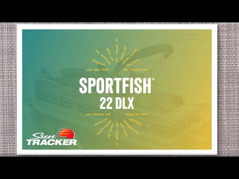 Sun Tracker SportFish 22 DLX video