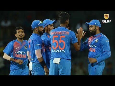 Rohit, Washington propel India to final