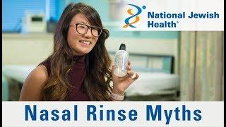 6 Nasal Rinse Myths Busted
