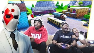 Brothers Battle It Out In NUKETOWN on Fortnite Creative Mode! (No Building Allowed)