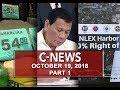 News (October 19, 2018) PART 1