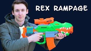 Nerf Dinosquad Rex Rampage  - Verlosung, Unboxing, Review & Test | MagicBiber [deutsch]