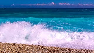 Relaxing Waves For Home or Office - Calming Ocean Sounds to Brighten your Day