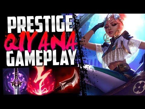 Prestige True Damage Qiyana Skin Challenger Gameplay