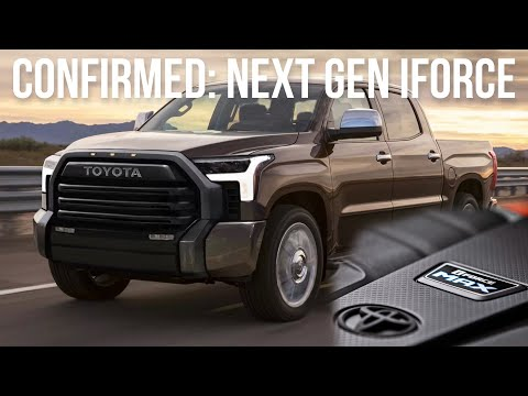 Here's What We Know About The Upgraded Engine For The 2022 Toyota Tundra