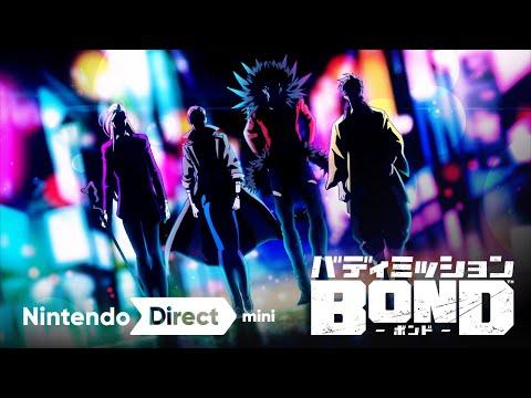 صورة الإعلان عن لعبة Buddy Mission Bond للسويتش من كوي تيكمو
