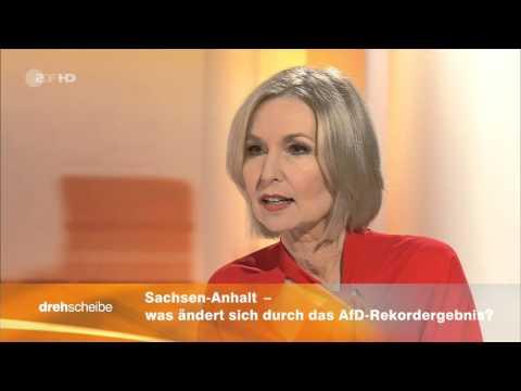 ZDF Drehscheibe Moderatorin hat Schwächeanfall on air | Pannen-TV