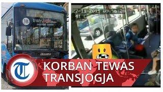 Viral Video CCTV di Dalam TransJogja saat Kecelakaan: Bus Tetap Melaju, Penumpang Panik