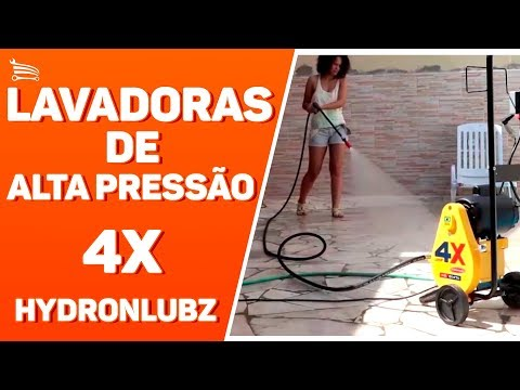 Hidrolavadora 4X JHF 450 PSI 1HP  Monofásica Profissional - Video