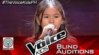 """The Voice Kids Philippines 2015 Blind Audition: """"Do You Want To Build A Snowman?"""" by Bianca"""