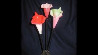 Como Se Faz Uma Flor De Vidro No Maçarico